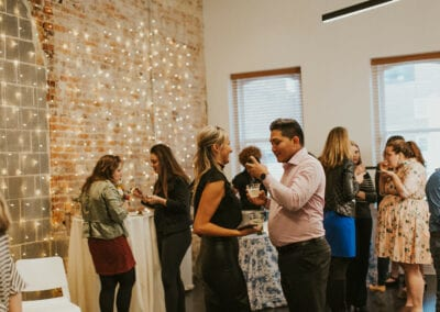 District Bliss Vendor Social, a networking event, was photographed by Shelly Pate Photography