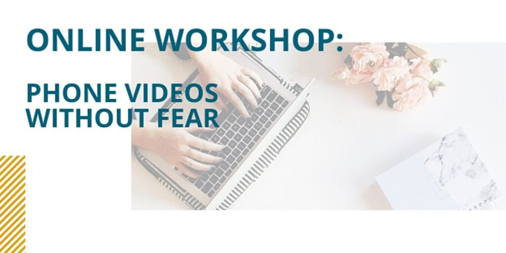 Online Workshop with Banner Day Films: Phone videos without fear — tips from the experts