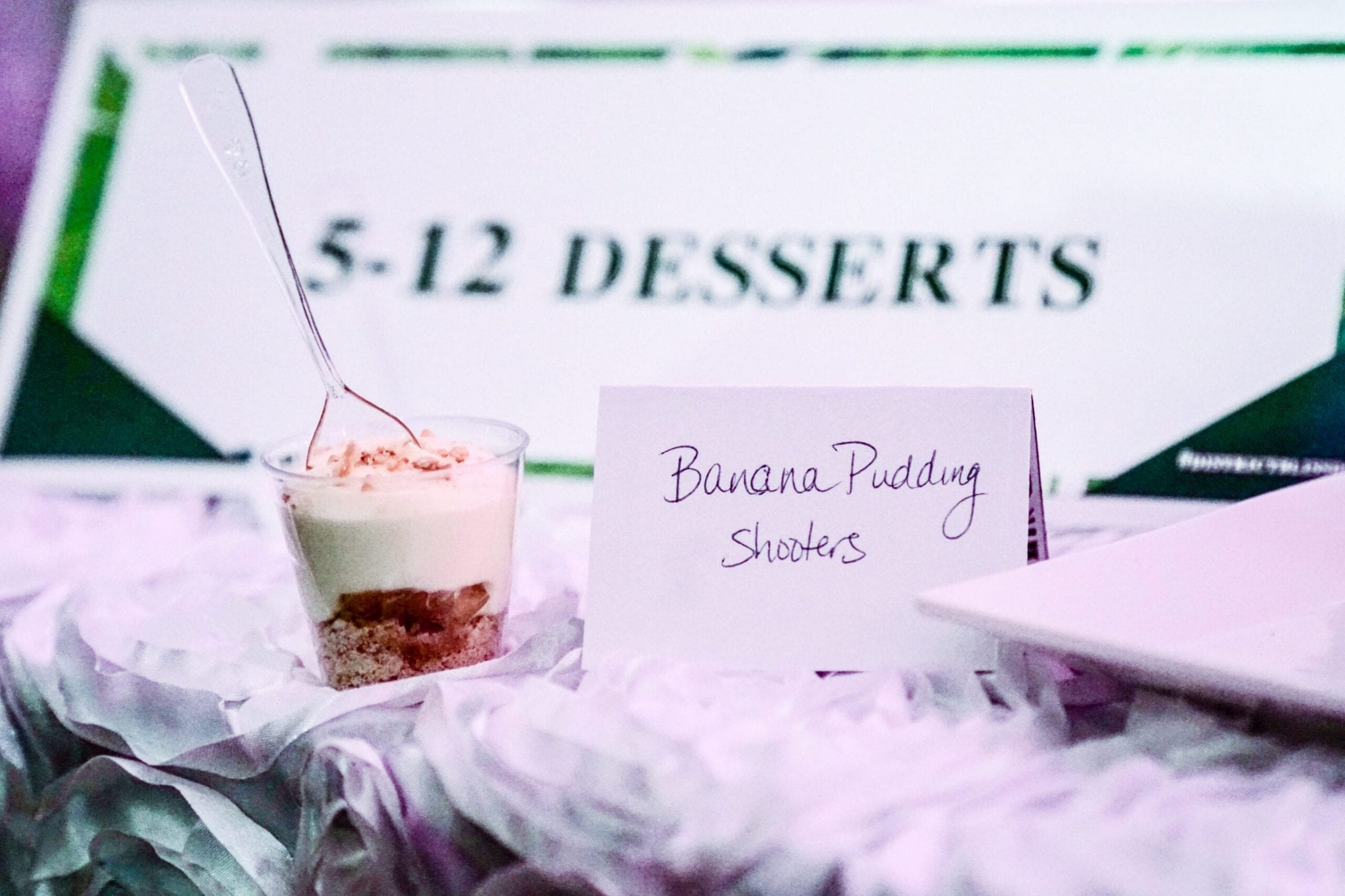5-12 Dessert created delicious desserts for the District Bliss Vendor Social, a light-hearted, welcoming, casual networking event