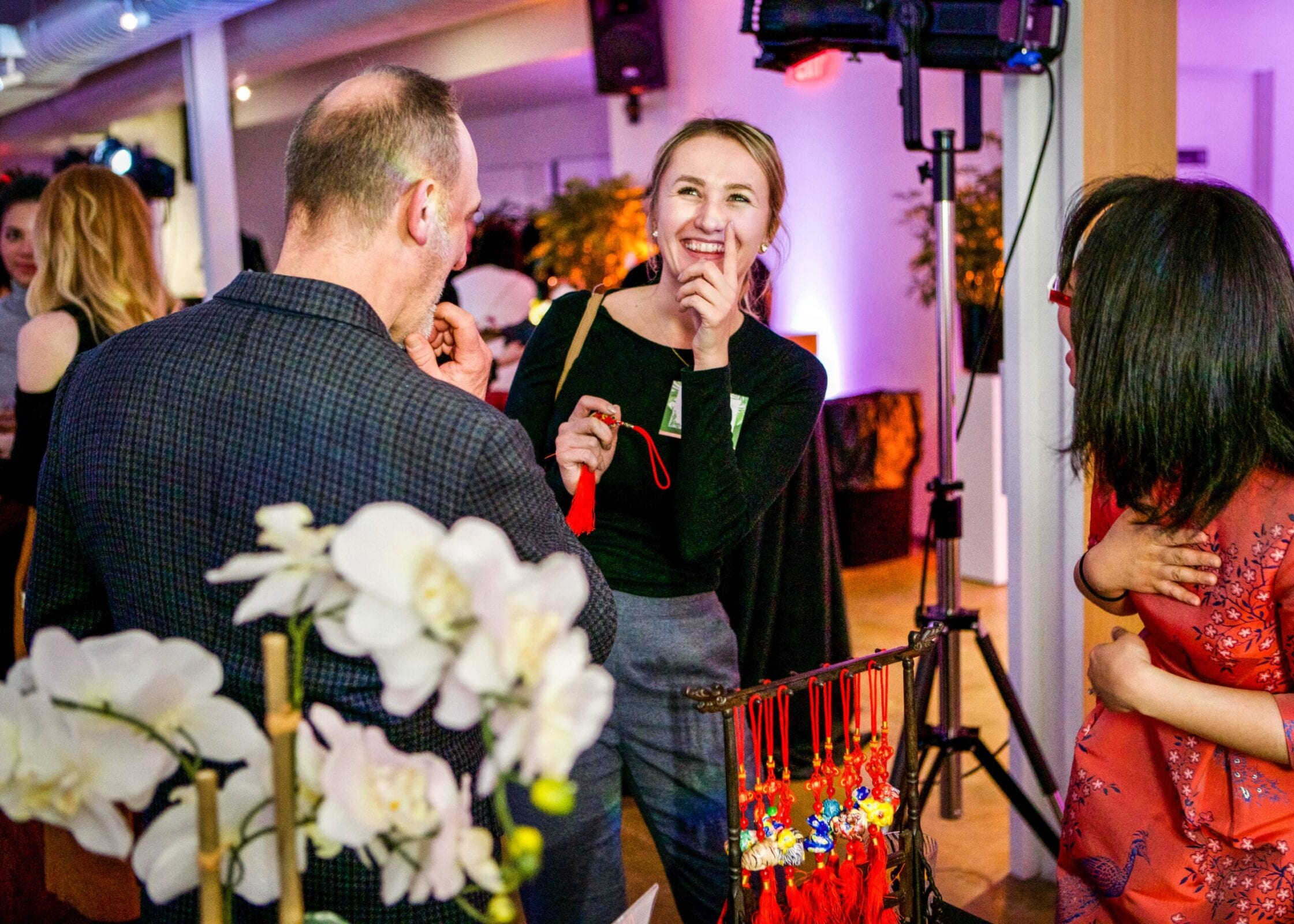 Small businesses, entrepreneurs, and creatives enjoyed the District Bliss Vendor Social, a light-hearted, welcoming, casual networking event