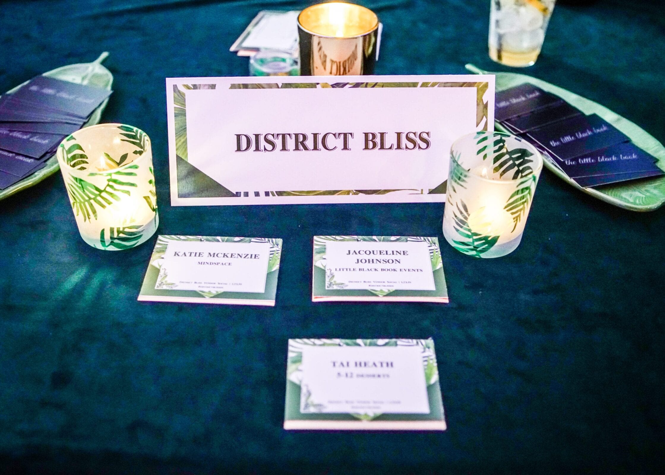 Vendor Social by District Bliss, a light-hearted, welcoming networking event