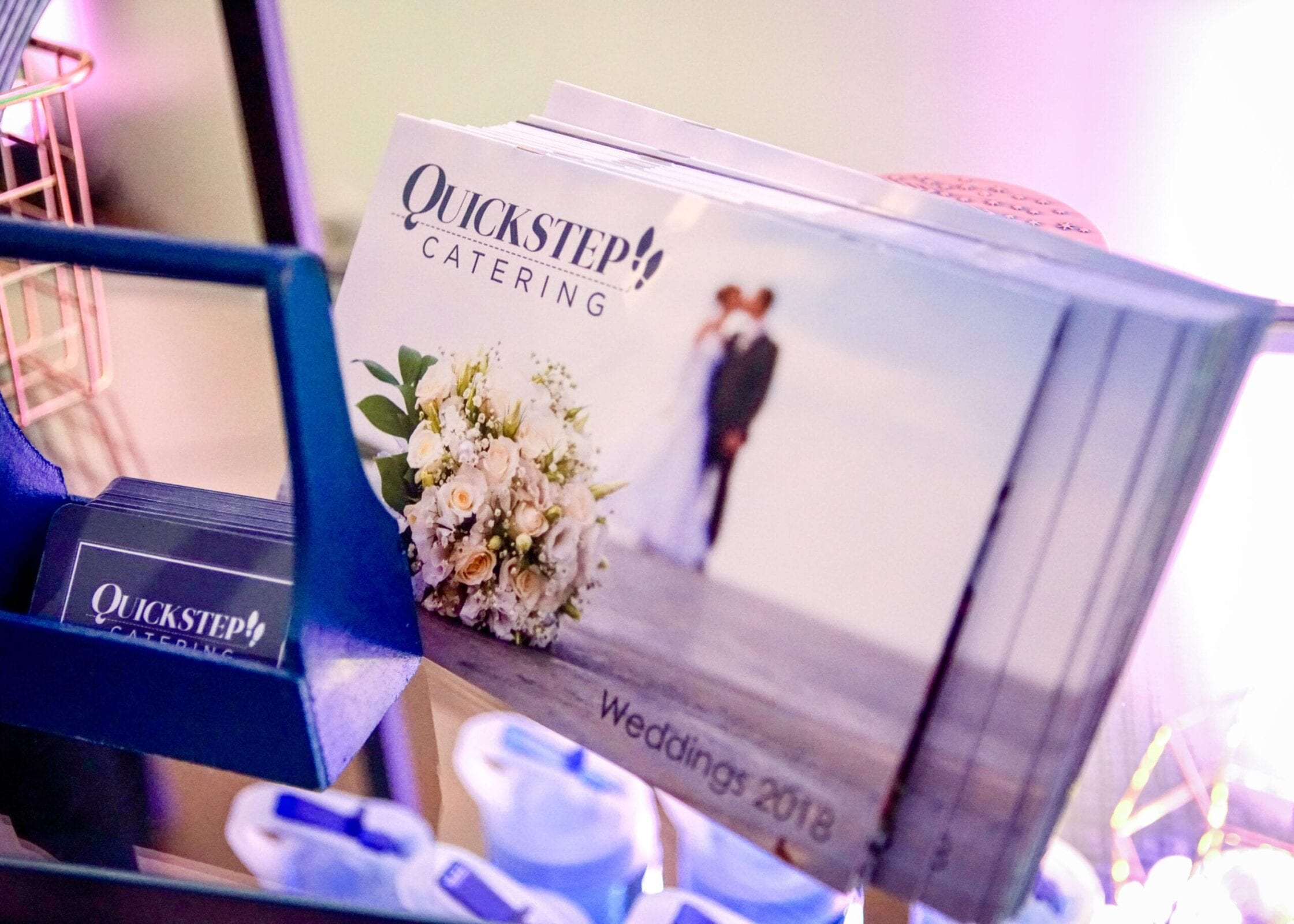 Quickstep Catering catered the District Bliss Vendor Social, a light-hearted, welcoming, casual networking event
