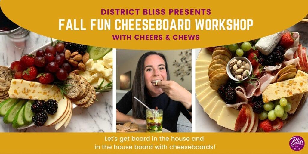Cheeseboard Workshop | Create Instagram Worthy Cheese Boards and Wine Pairings
