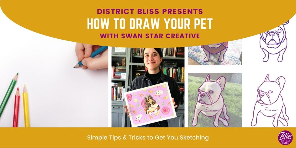 Capture Your Pet's Personality through Drawing and Watercolor Techniques