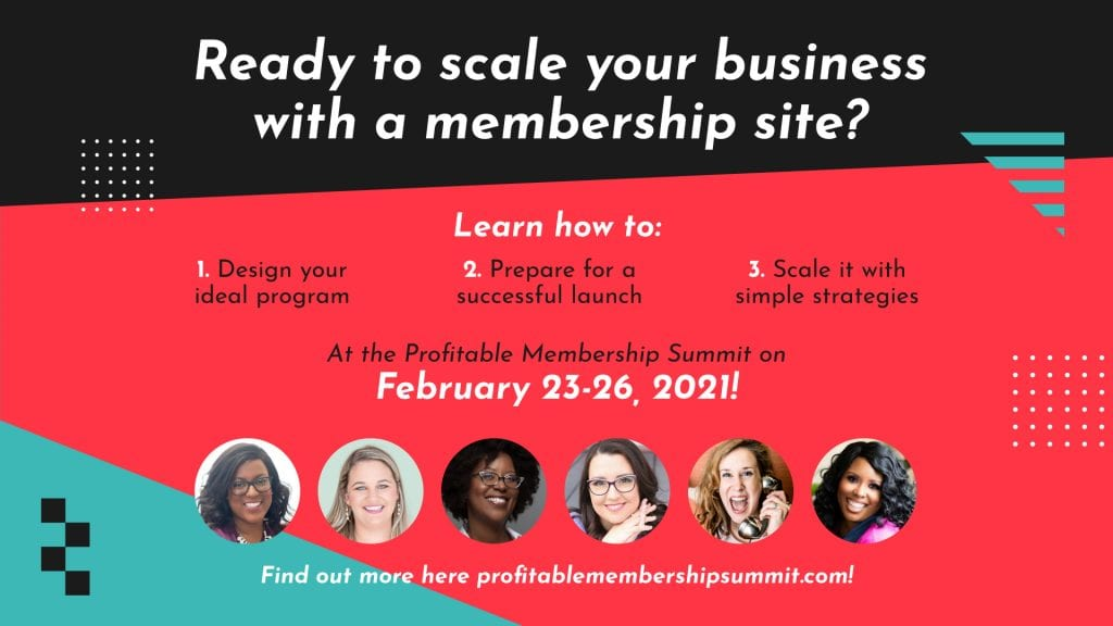 District Bliss | Profitable Membership Summit with Scaling Deep 2021
