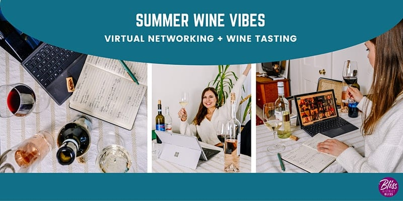 Wine Tasting with Together with Wine and Networking Social with District Bliss