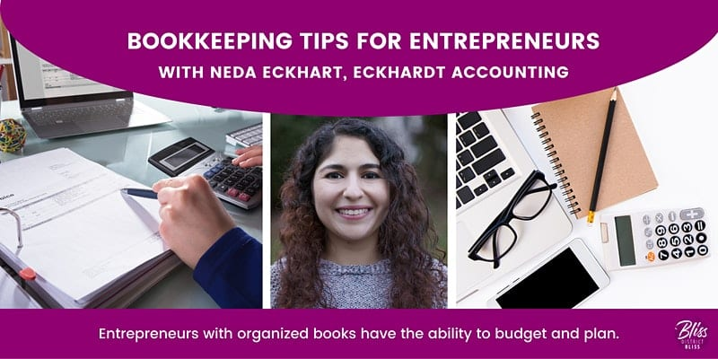 Bookkeeping tips for entrepreneurs workshop