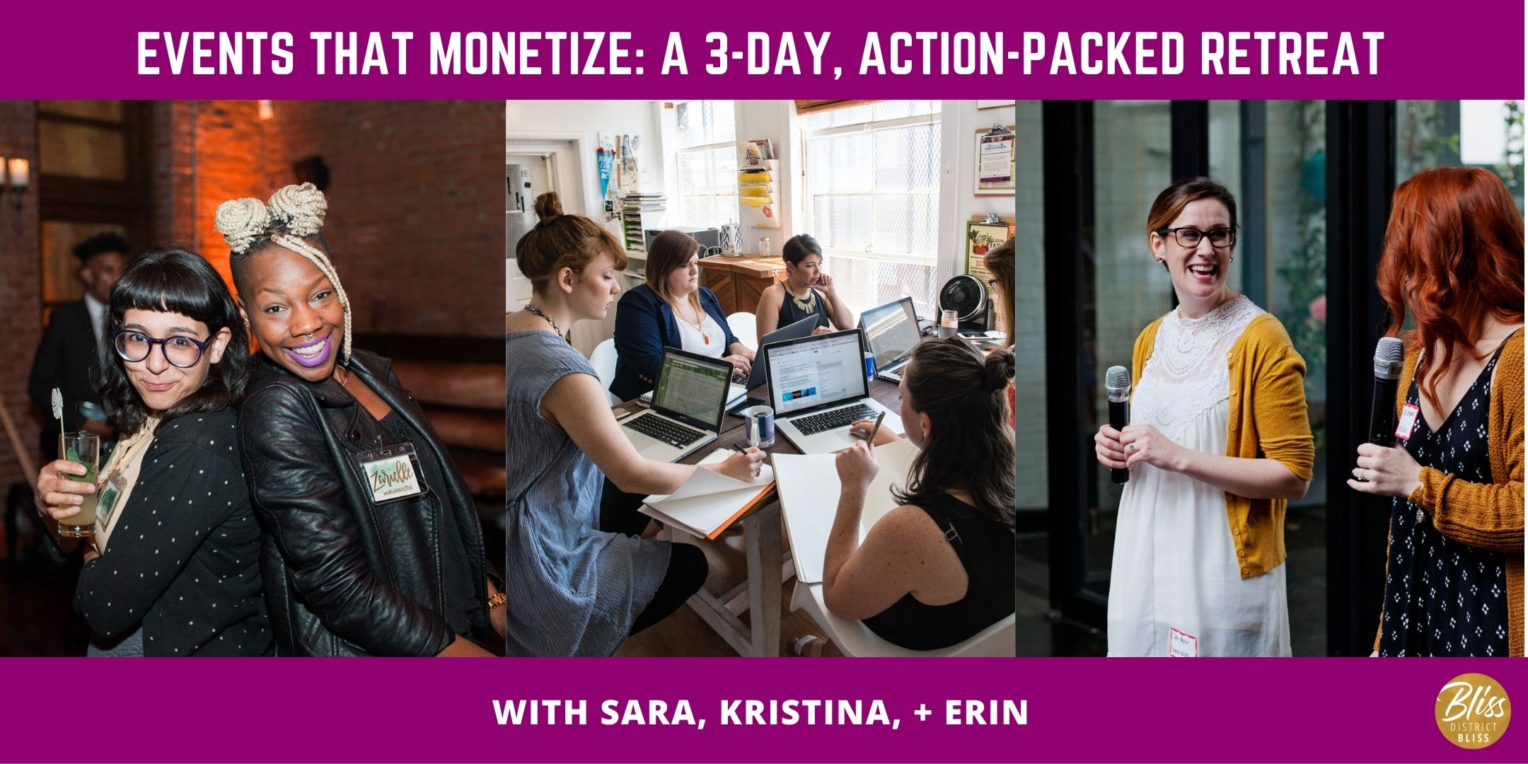 Events That Monetize | Action-Packed Retreat for Online Event Hosts