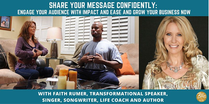 Speaking with Confidence Workshop   District Bliss and Faith Rumer